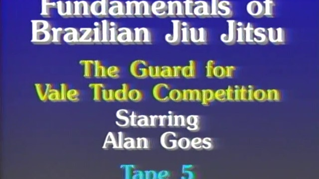 Allan Goes - The Guard for Vale Tudo Competitions