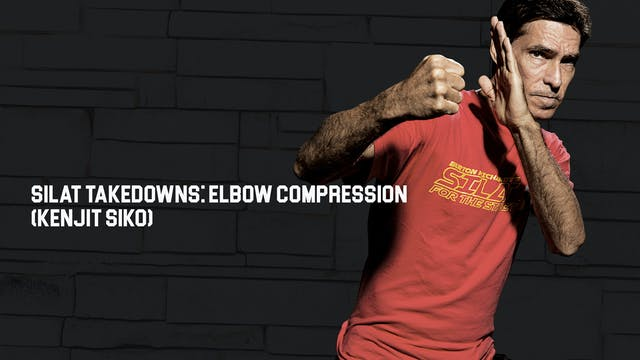 Silat Takedowns: Elbow Compression (K...