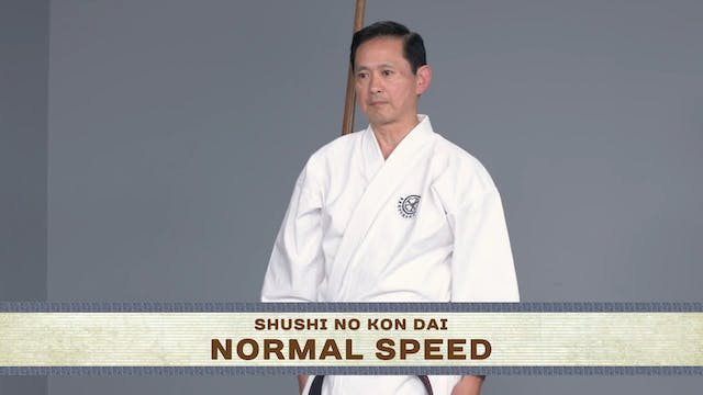 Shushi No Kon Dai: Normal Speed, Instructional, Slow Motion