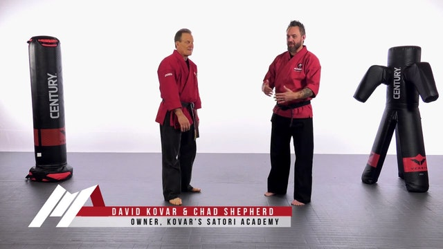 Dave Kovar - Patty Cake Takedown Defense Drill