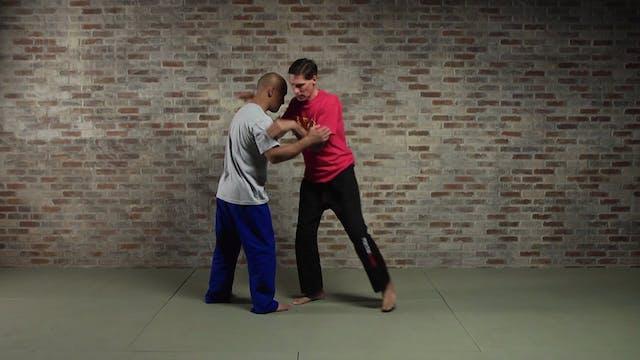 Silat Takedowns: Knee Compression (Kenjit Kaki)