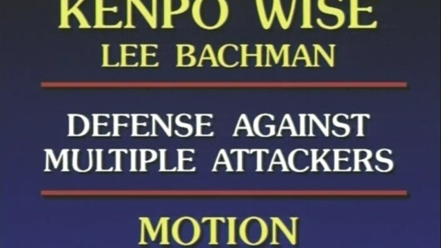 Lee Bachman - Defense Against Multiple Attacks