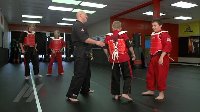 Michael Kramp - Turtle Sparring