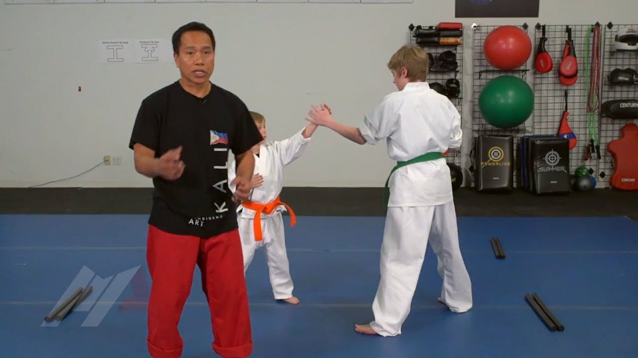 Michael Kramp Walk The Line 1 Student Kids Drills Martial