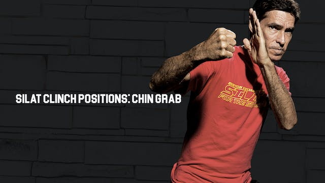 Silat Clinch Positions: Chin Grab