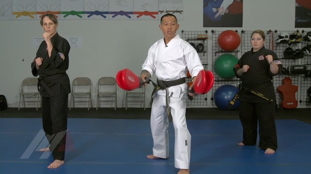 Ernie Reyes Jr. - Spinning Hook Kick Progressions