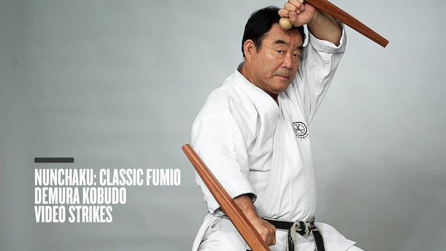 Nunchaku: Classic Fumio Demura Kobudo Video Strikes