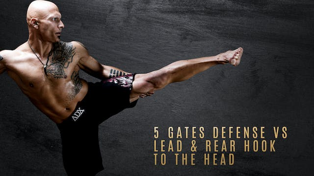 5 Gates Defense vs Lead & Rear Hook to the Head