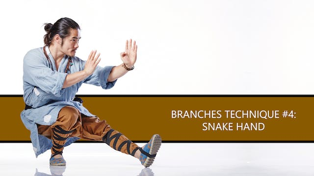Branches Technique #4: Snake Hand