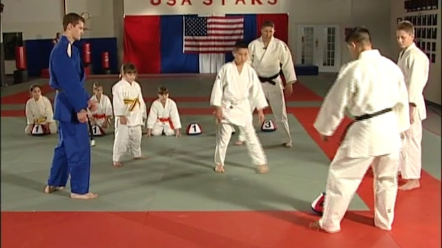 Mike Swain Judo Sweeps and Resistance Straps Exercises