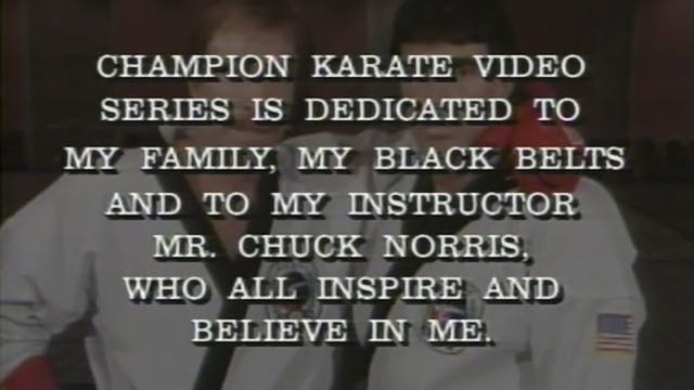 Danny Lane - Red - Black Belt Program