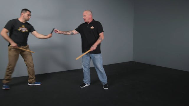 10 Reaping strike and recovery stroke