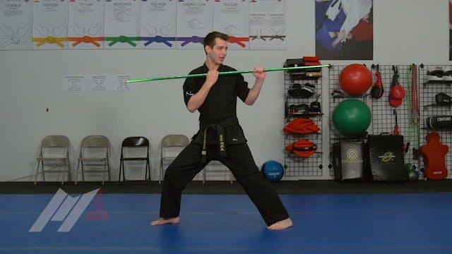 Jackson Rudolph - Relative Teaching - Bo Staff - Martial