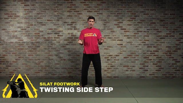 Silat Footwork: Twisting Side Step