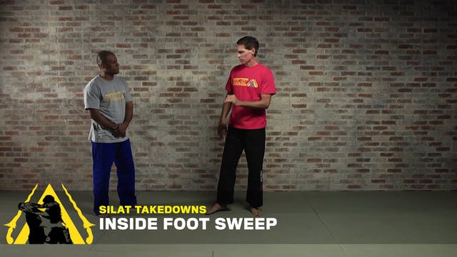 Silat Takedowns: Inside Foot Sweep