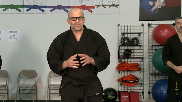 John Hackleman - Roundhouse Kick Shield Drill