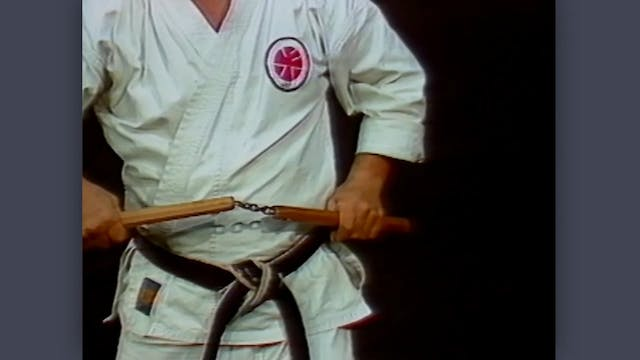 Nunchaku: Classic Fumio Demura Kobudo Video Review: Catching