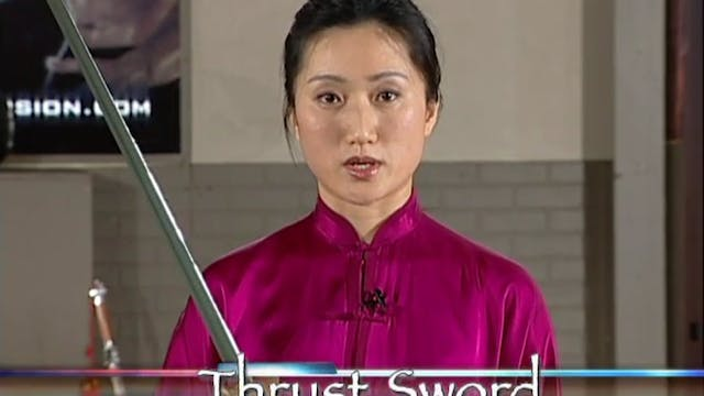 Li Jing - Straight Sword