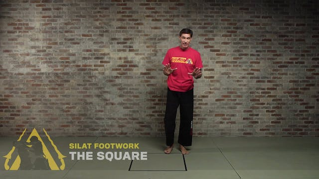 Silat Footwork: The Square