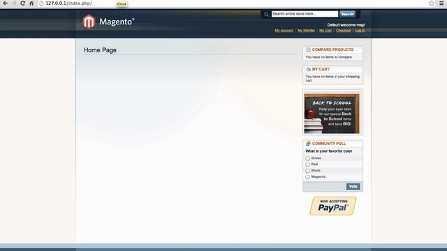 Magento Mechanics - Lesson 01: How to change any picture in a Magento site