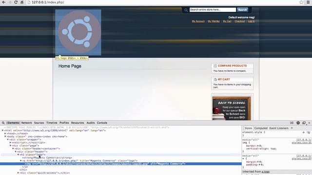 Magento Mechanics - Lesson 02: How to change the CSS anywhere on your site!