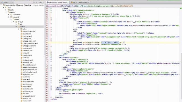 Magento Mechanics - Lesson 08: Find any sub-template file + template hints