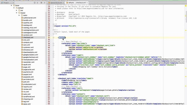 Magento Mechanics - Lesson 13: How to remove any block from any page