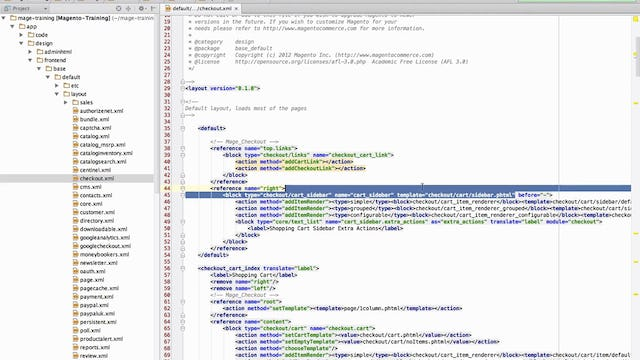 Magento Mechanics - Lesson 14: How to add a custom block to any CMS page
