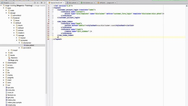 Magento Mechanics - Lesson 15: How to add custom CSS or Javascript to any page on your site