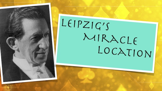 LEIPZIG'S MIRACLE LOCATION