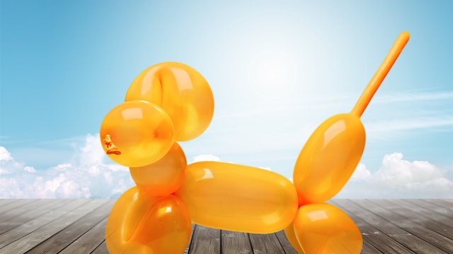 HOW TO MAKE A BALLOON DOGGY