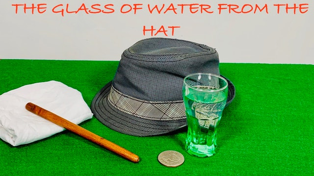 THE STREET PERFORMER'S GLASS & HAT