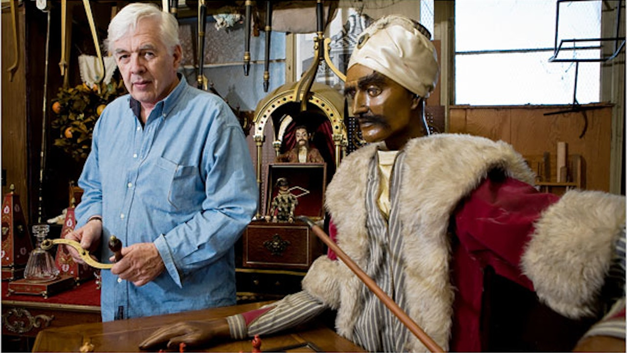 A Visit To Johnny Gaughan's Studio