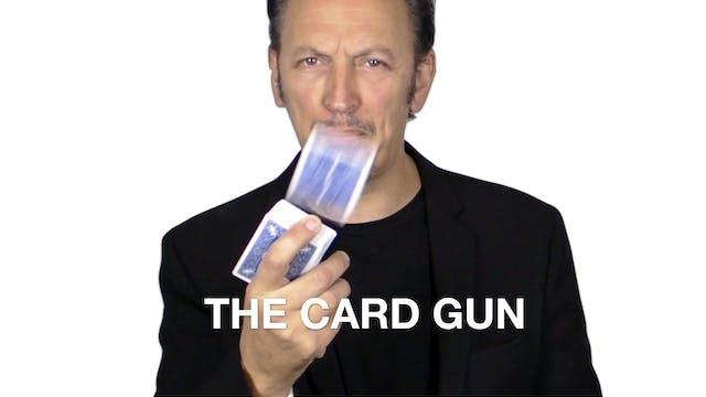 THE CARD GUN