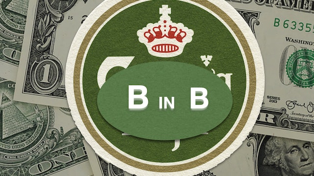 B in B - THE BANKNOTE IN THE BEERMAT