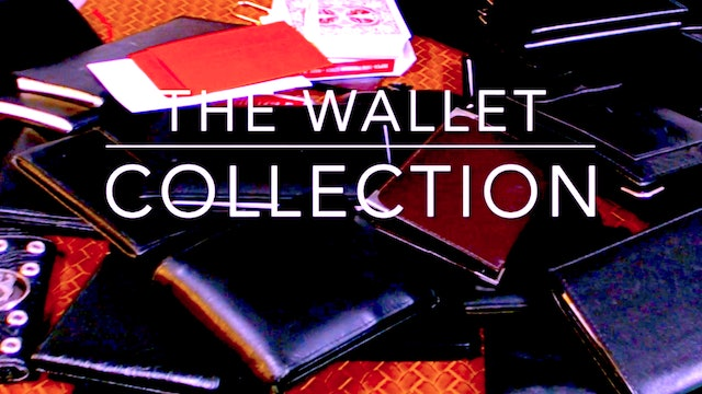 THE WALLET COLLECTION - PART ONE - INTRO, A WALLOP & SOME PEEKING