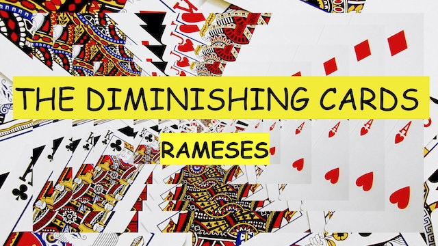 12 THE RAMESES DIMINISHING CARDS