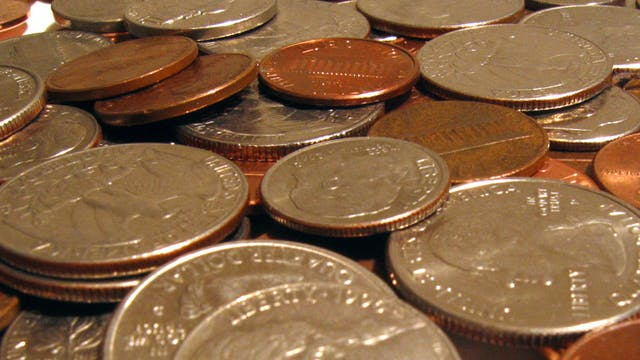 OWEN CLARK'S COIN STAND