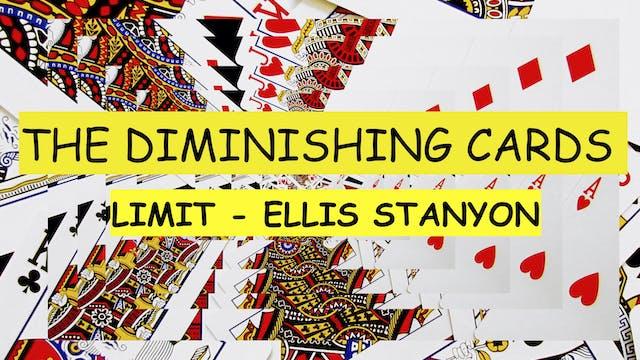 20 LIMIT DIMINISHING CARDS
