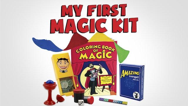 My First Magic Trick Kit