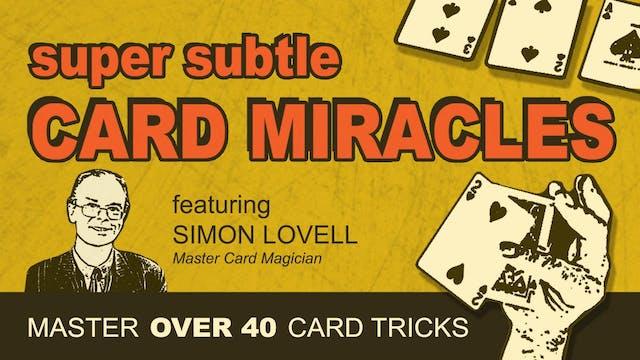 Super Subtle Card Magic - Instant Download