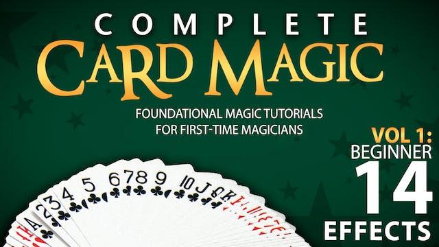 Complete Card Magic Volume 1: Beginner Instant Download