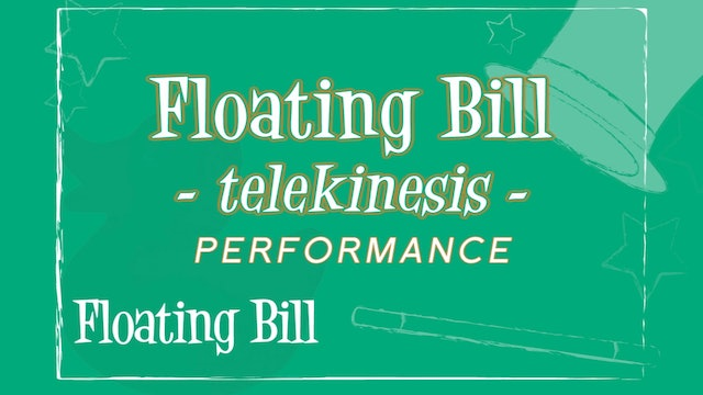 Floating Bill Over the Head