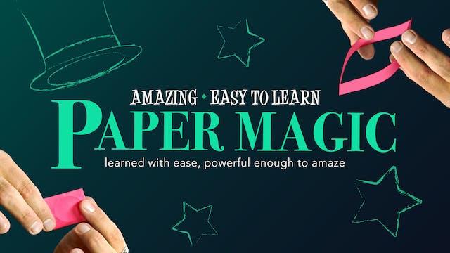 Amazing Series: Paper Magic