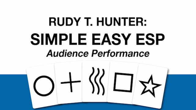 Rudy T. Hunter's Simple Easy ESP
