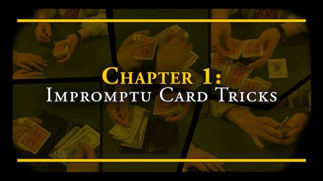 Chapter 1 - Misc. Impromptu Card Tricks