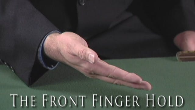 The Front Finger Hold