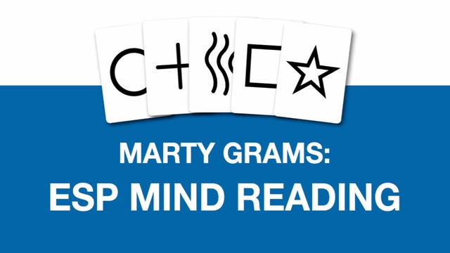 Marty Grams ESP Mind Reading