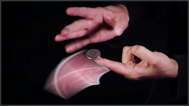 Flicking a Card from Under a Coin