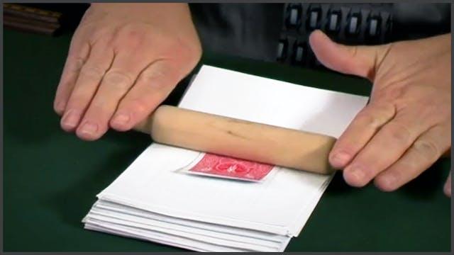 Gluing a Card